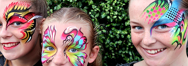 The Face Painting Lady